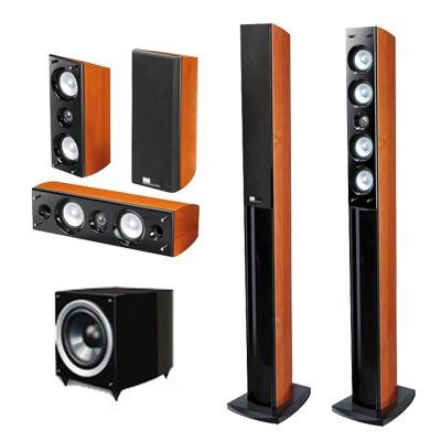 kuhn sistema parlantes 5 1 pure acoustics serie slim dream
