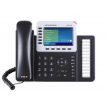 TELEFONO IP HD POE GIGABIT COLOR 6 LINEAS GRANDSTREAM GXP-2160