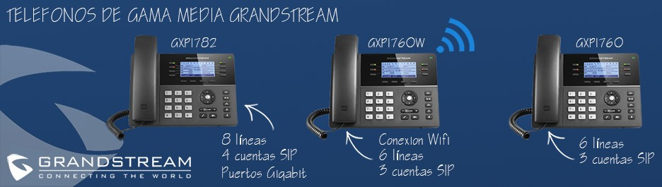 Telefonos GXP1700