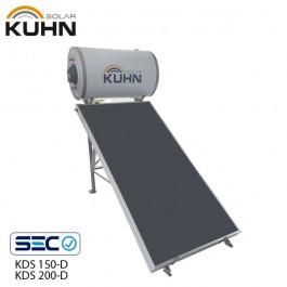 SISTEMA TERMOSOLAR COMPACTO 150 LTS KUHN KDS-150D