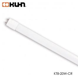 TUBO LED T8 22W VIDRIO COOL WHITE 1.2M KT8-22W-CR