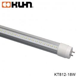 TUBO LED T8 18W LUZ FRIA TRANSPARENTE 1.2M KT812-18CL